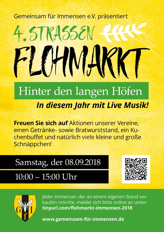 2018 Plakat Flohmarkt web
